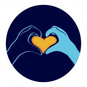 Respect and kindness icon