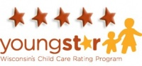 Youngstar 5 star rating logo