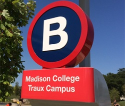 A B-Cycle station is located at the Truax Campus.