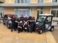 Group photo of public safety at Madison College