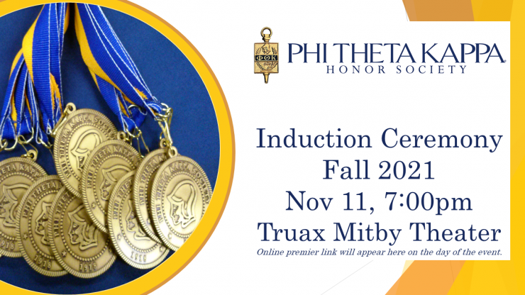 Induction Ceremony Image for Fall 2021