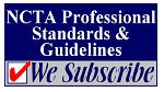 We Subscribe to National College Testing Association Standards and Guidelines